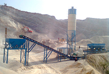 Hubei 300T Stabilized Soil Mixing Plant
