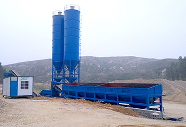 Lushan 600T Stabilized Soil Mixing Plant