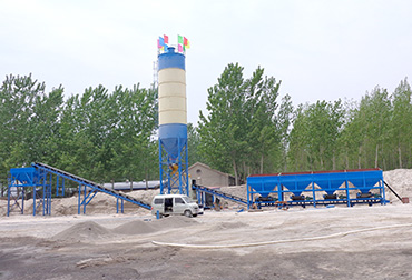 Qi County 600T Stabilized Soil Mixing Plant