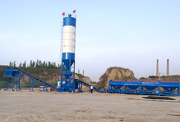 Shanxi 600T Stabilized Soil Mixing Plant