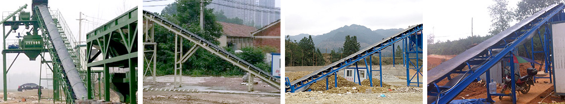 WBZ600 Stabilized Soil Mixing Plant Conveyor system