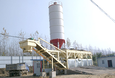 Anhui 400T Stabilized soil mixing Plant integrated machine