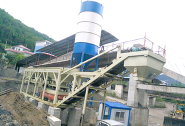 Guizhou 400T Stabilized soil mixing Plant integrated machine