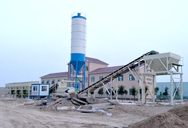 Henan 500T Stabilized soil mixing Plant integrated machine