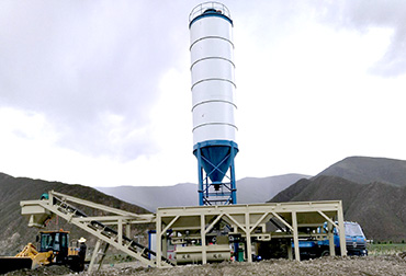 Lasa 400T Stabilized soil mixing Plant integrated machine