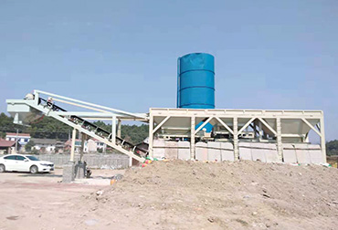 Yueyang  Stabilized soil mixing Plant integrated machine