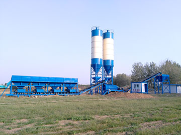 WBZ600 Stabilized Soil Mixing Plant