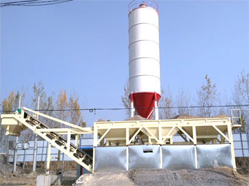 Stabilized soil mixing plant integrated machine