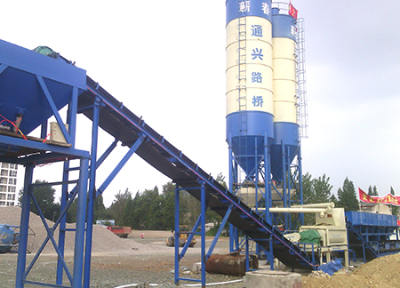 500 tons Stabilized Soil Mixing Plant Field Case in Wuhan
